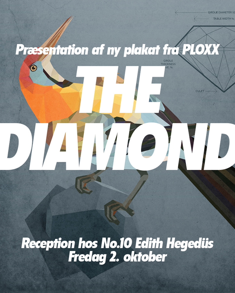 Poster Design · The Diamond Poster · No.10 Edith Hegdüs