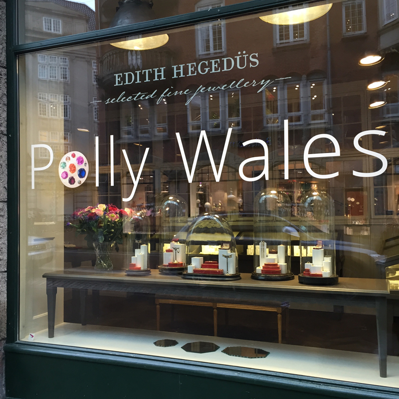 Polly Wales · Fine Handcrafted Jewellery · No.10 Edith Hegedüs