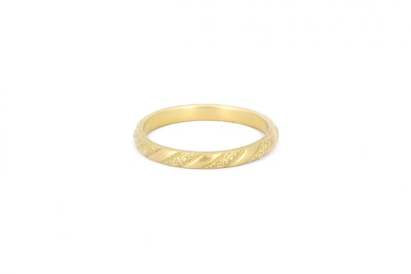 Wedding Rings in Gold · 18ct Gold · Design Edith Hegedüs