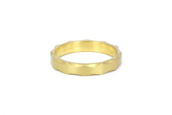 Wedding Ring Man · 18ct Gold · Design Edith Hegedüs