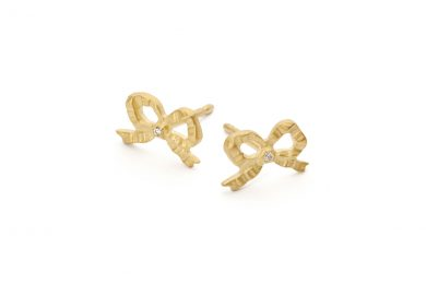 Studs with Diamonds · Giselle studs · No.10 Edith Hegedüs