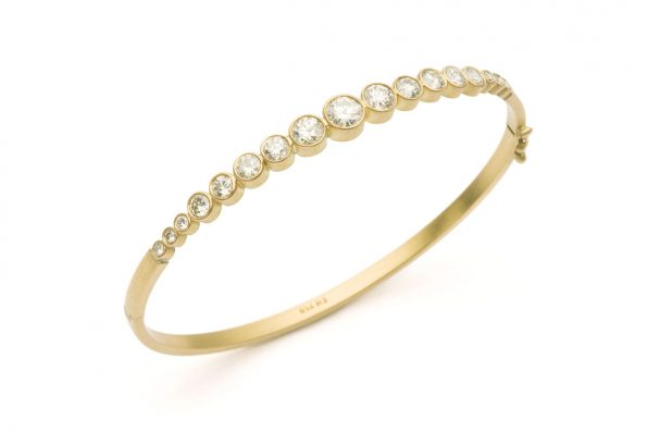 Bracelet with Diamonds · Stella Diamond Bracelet · No.10 Edith Hegedüs