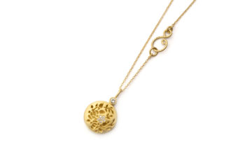 Necklace with medallion · Perfume Medallion · No.10 Edith Hegedüs